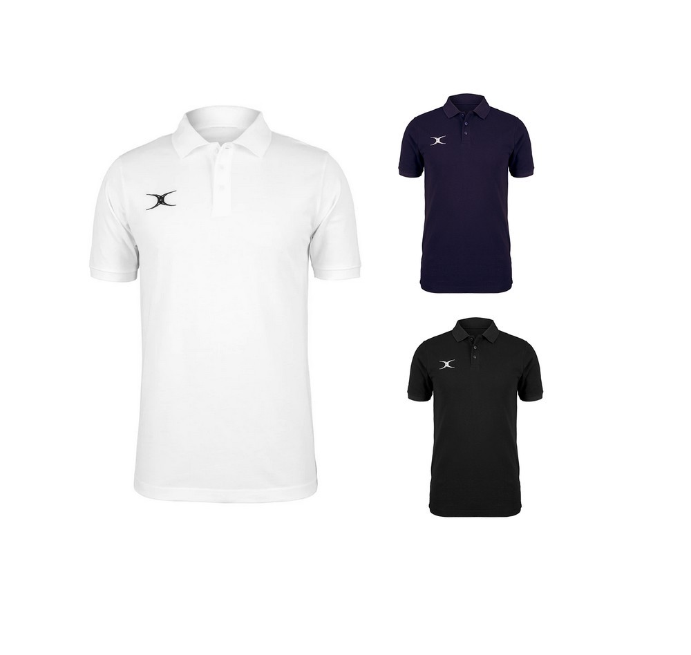Polo rugby Gilbert coton - modèle QUEST -